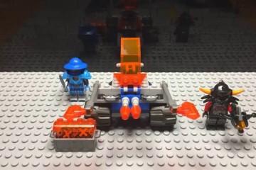 Lego Nexo Knights Knighton Battle Blaster (70310)